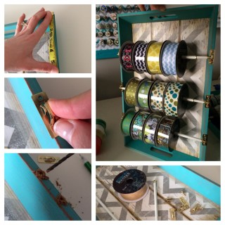 The Best Ever Ribbon Holder – DIY and so easy to make!