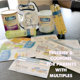 Freebies, Coupons and Promos for Parents with Multiples and Singletons