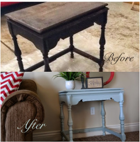 Sewing Table Refresh and Repurpose