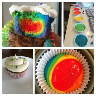 Everlasting Gobstopper – Rainbow Cupcakes – Gluten Free
