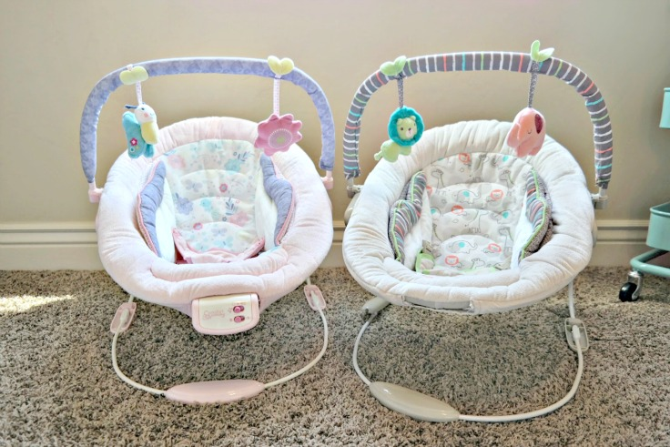 8 Baby Products I couldn't live without: Bouncy Chairs