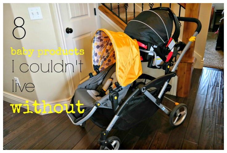 8 Baby Products I couldn't live without: Contours Tandem Stroller for to infants, two toddlers or one of each. Plus this fits in my compact car!
