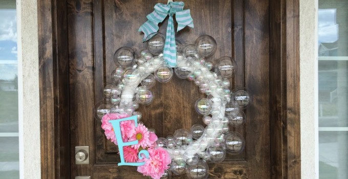 Clear Bubble Wreath