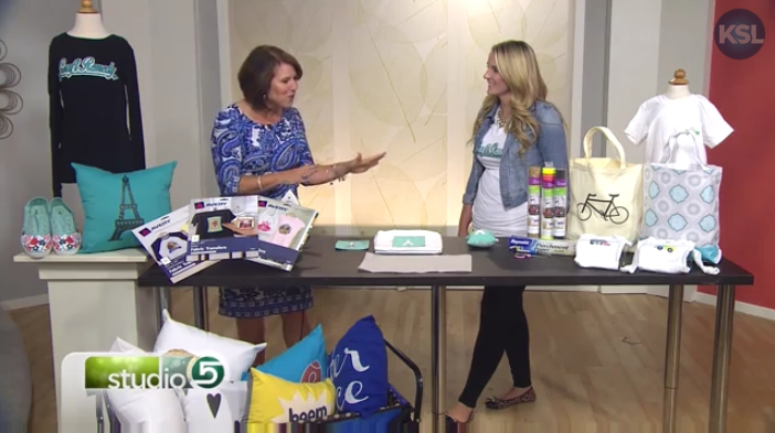 Craft Remedy Crafting with iron-ons on Studio 5- Ali Carlile