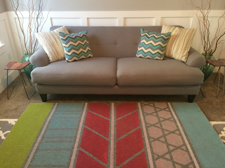 Diy Painted Area Rug For Under 40