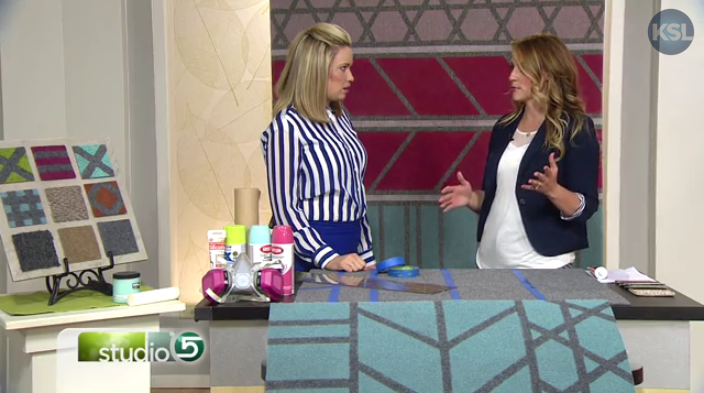 Craft Remedy on KSL Studio 5- Area Rug