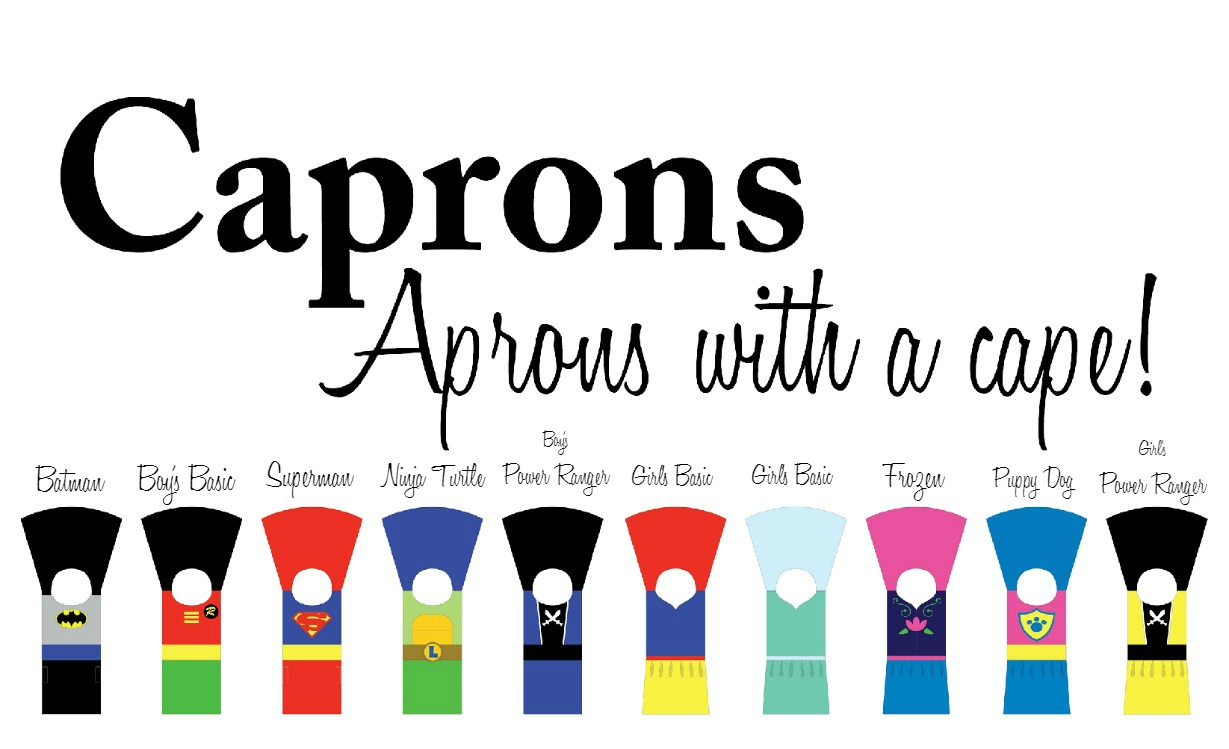 Capron - Aprons with a Cape. A perfect Halloween costume- Craft Remedy