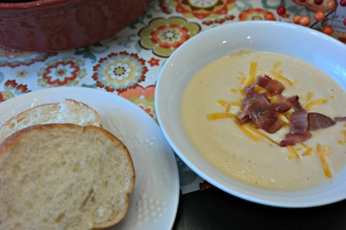 Creamy Crock Pot Wisconsin Cauliflower Soup