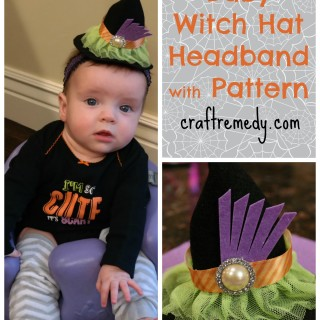 Halloween Baby Witch Headbands