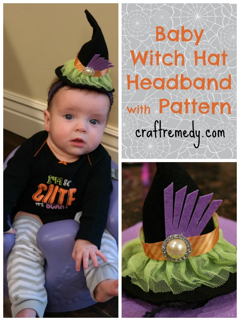 Halloween Baby Witch Headband