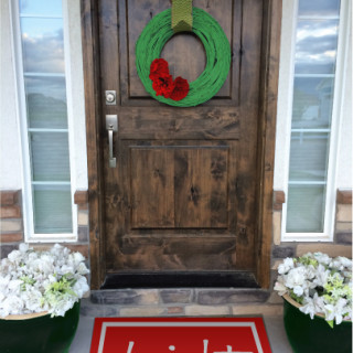Christmas Doormats – Painted Rugs