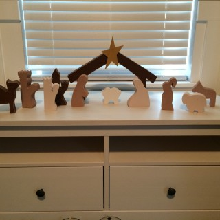 Christmas Nativity–Wood Connection
