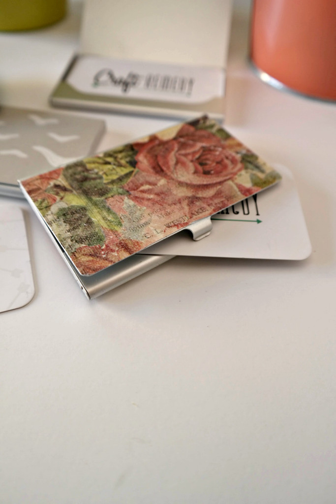 Diy business card holder craft remedy make your own business card holder colourmoves