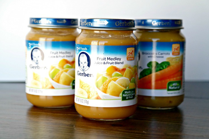 How Many Jars Of Baby Food For  Month Old