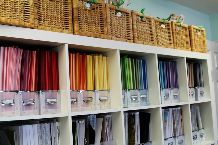 Storage For Craft Room: Craft Room Storage And Organization Ideas