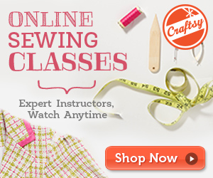 Craftsy  Sewing Classes