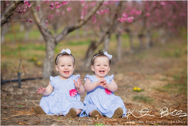 Twins First Birthday: Olivia and Kennedy Turn One