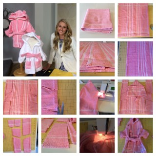 1 Towel Bathrobes – Easy Sewing Project – Patterns