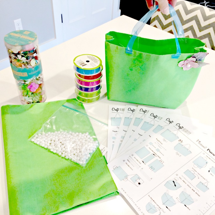 Easy Sew Placemat Purses