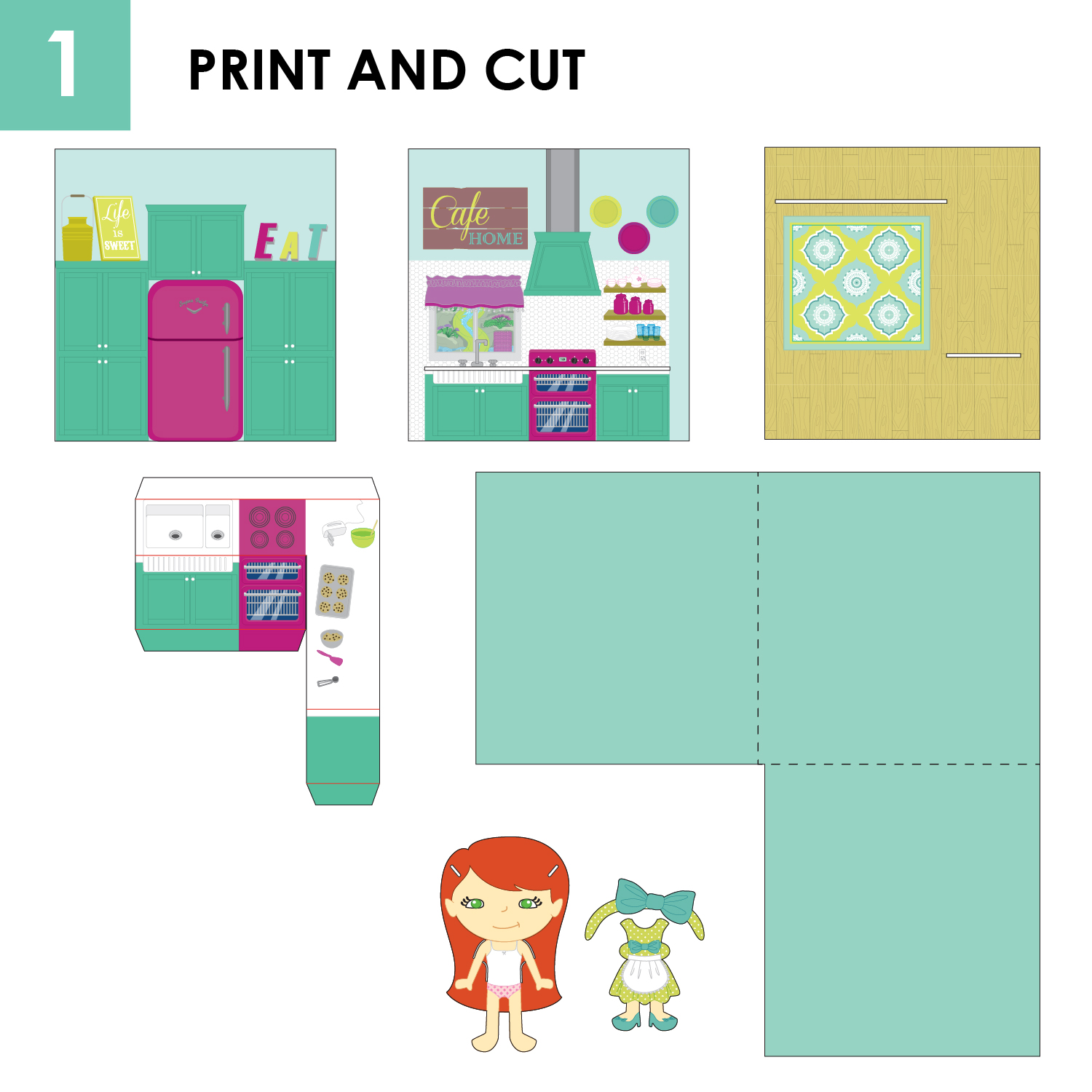 Pop Up Book And Paper Doll Set Craft Remedy