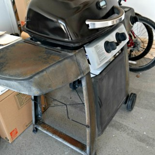 Make your Rusty Grill Look Brand New