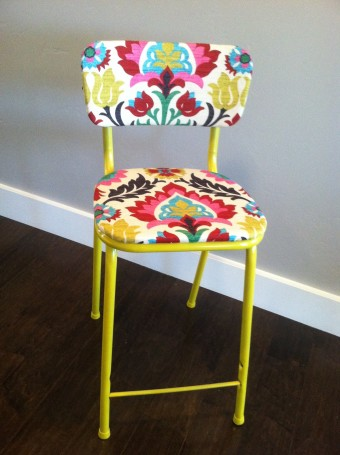 Reupholstered Family Chair