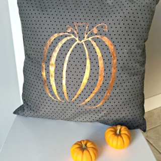 Fall Pumpkin DIY Pillow