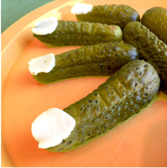 Frankenstein-Finger-Pickles