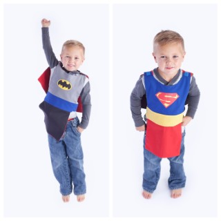 Aprons with a Cape – Aprons for Kids