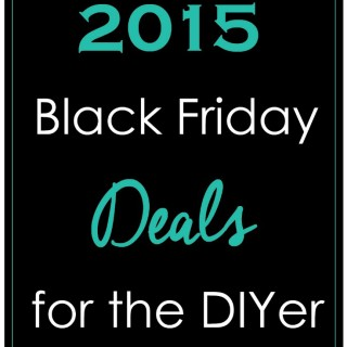 Black Friday Deals for the DIY Crafter