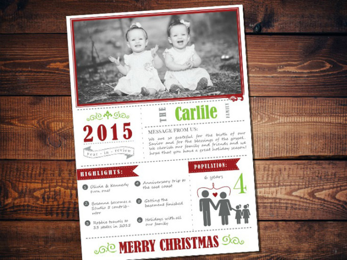Carlile Christmas Card Blog Picture with background