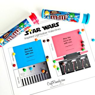 Star Wars Valentines Inspired Lightsabers