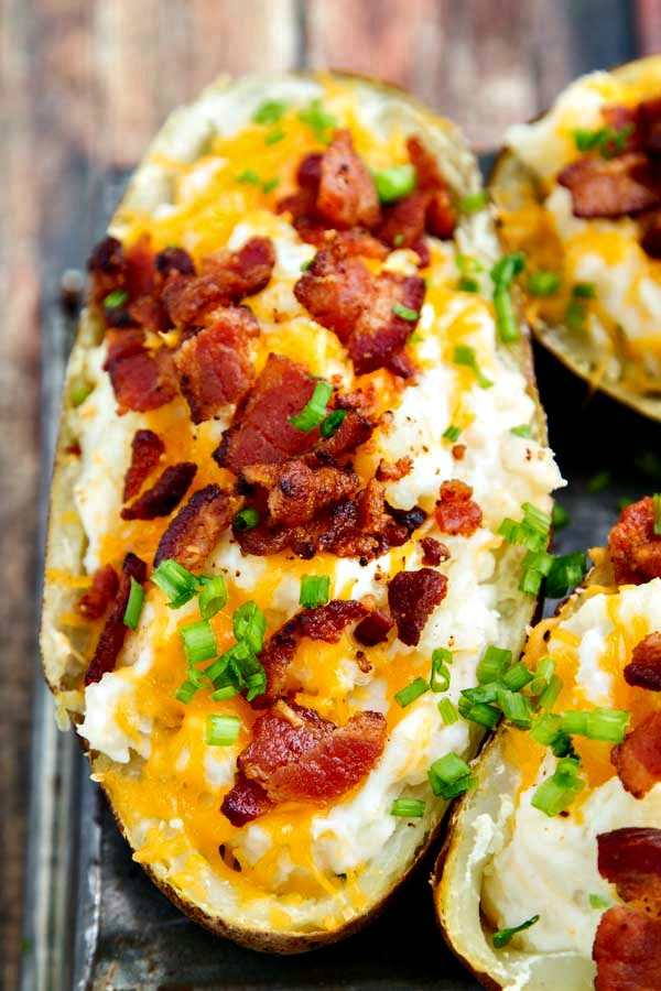 Super Bowl Appetizers: Twice Baked Potatoes | The Wicked Noodle