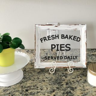 """Fresh Baked Pies"" Autumn Sign for Fall"