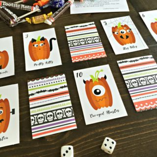 Rolling for Pumpkins: A Kids Halloween Party Game