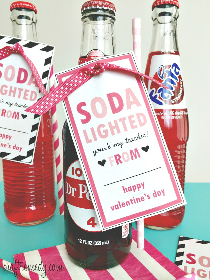 Easy Teacher Valentine Gift And Printable Craft Remedy